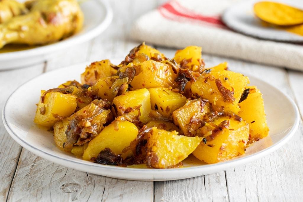 Ricetta Patate piccanti