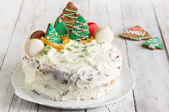 Guarda il video della Christmas cake di panettone