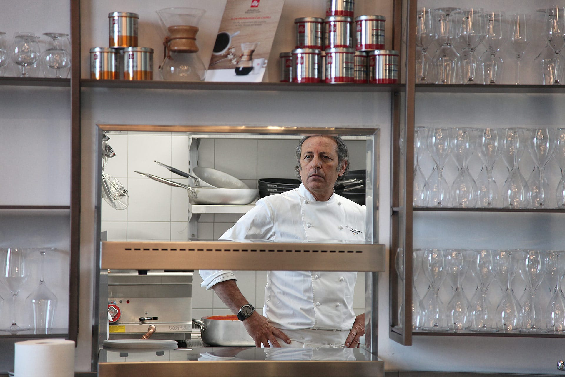 Ecco perché sosterete al 'San Giorgio Café con Filippo La Mantia' a Venezia