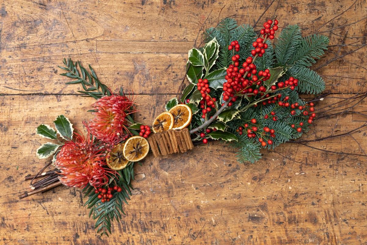 Il nostro centrotavola di Natale è alle spezie e non è la solita ghirlanda