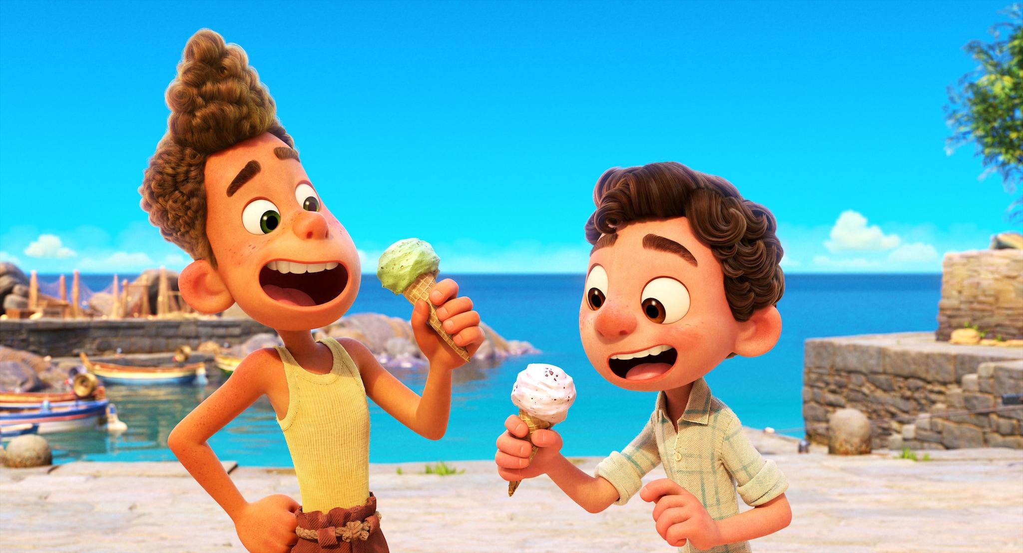 Come si mangia in Luca, il nuovo film Pixar ambientato alle Cinque Terre
