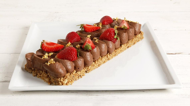 Cake fragole e cioccolato