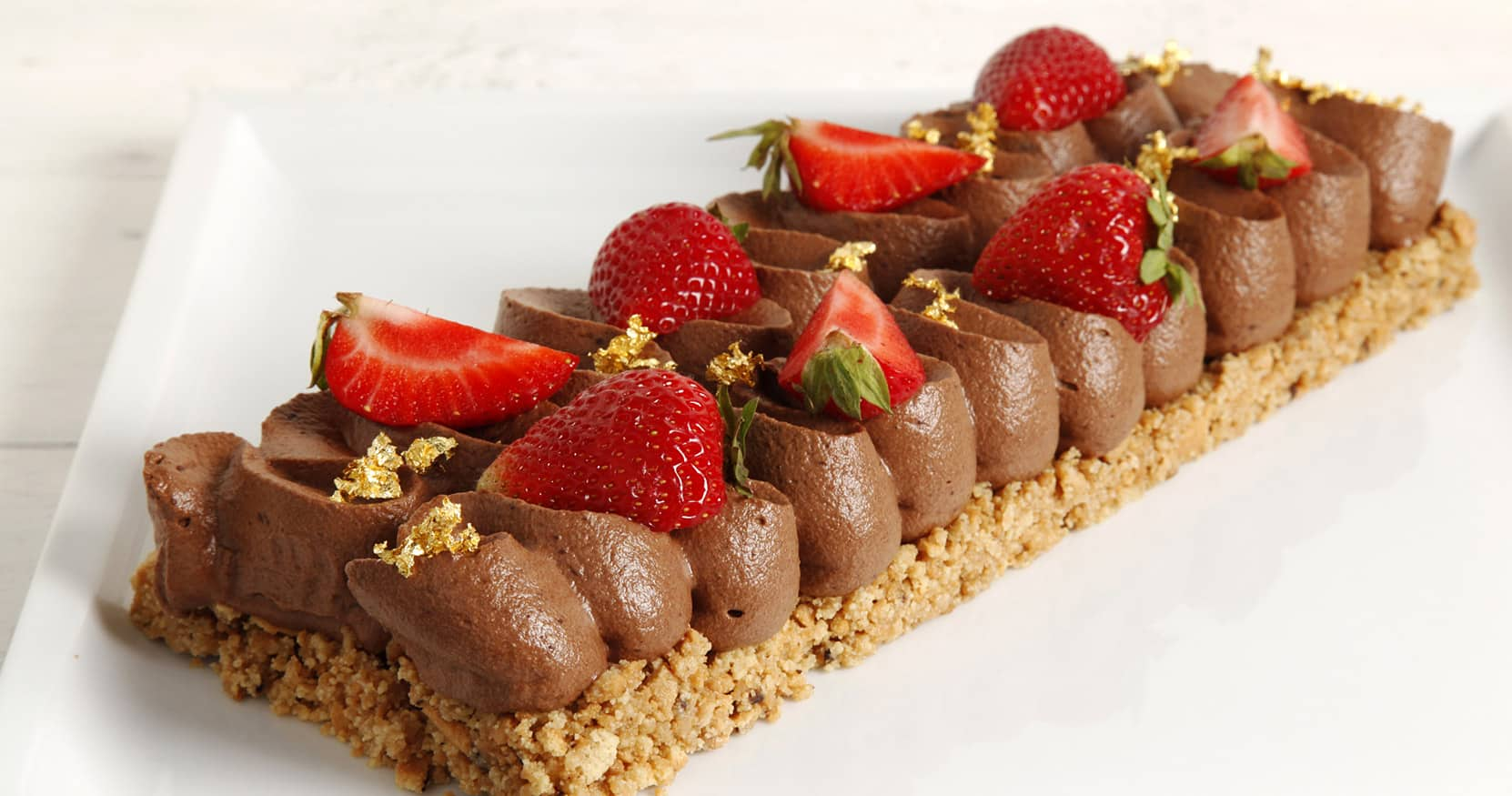 Cake fragole e cioccolato video ricetta