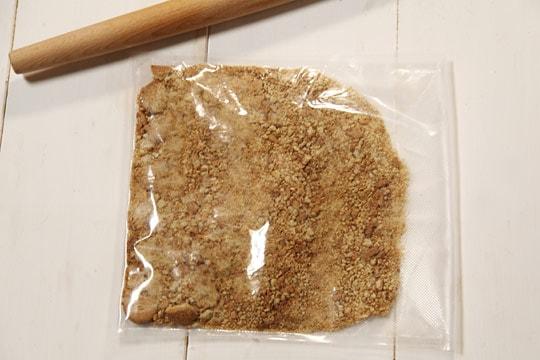 Crostata al cioccolato e lamponi fase 1