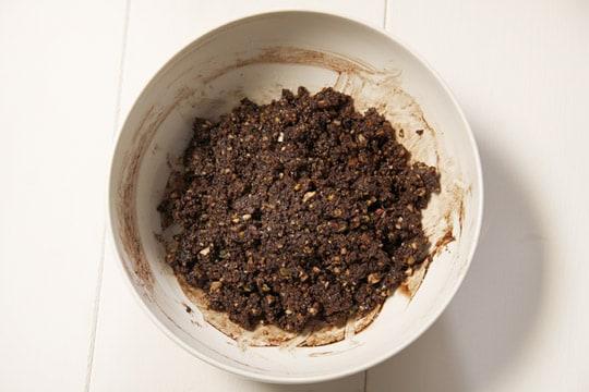 Salame di cioccolato fase 4