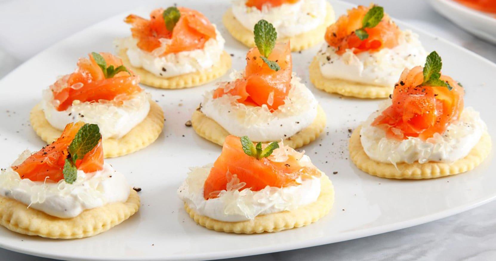 [Video] Tartine ricotta, salmone e caviale di limone