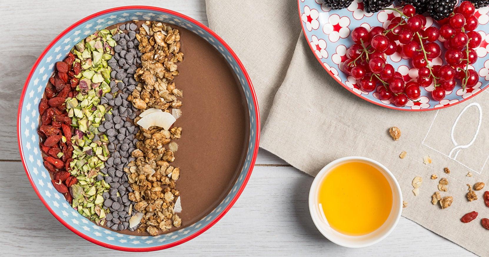 [VIDEO] Smoothie bowl al cioccolato e banana