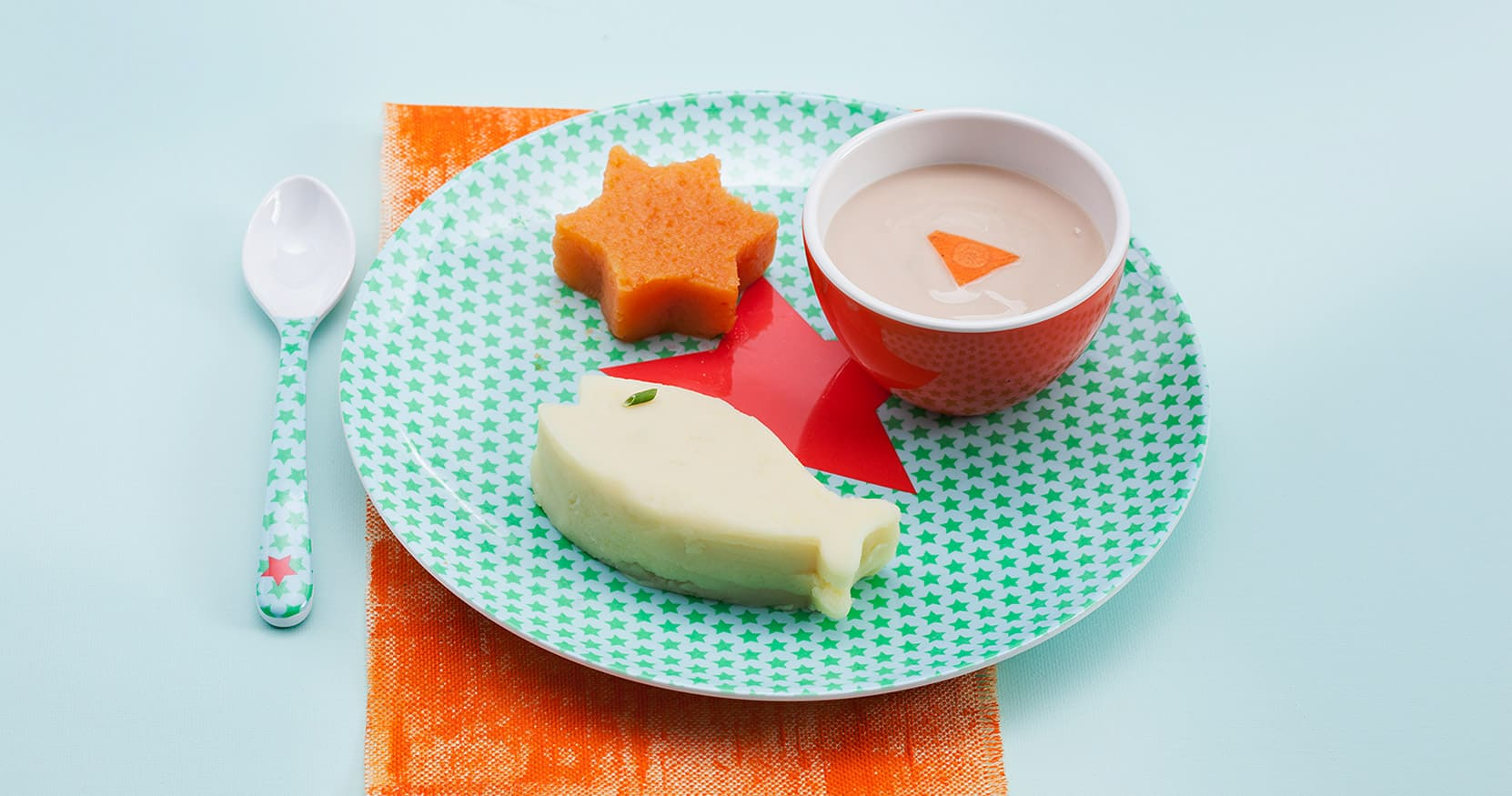 [VIDEO] Scopri come preparare la Purea bicolore di patate e di carote con tacchino