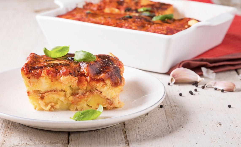 [VIDEO]Sformato di polenta